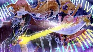 Rating: Safe Score: 59 Tags: hijiri_byakuren sword touhou toyosatomimi_no_miko weapon xuanlin_jingshuang User: FormX