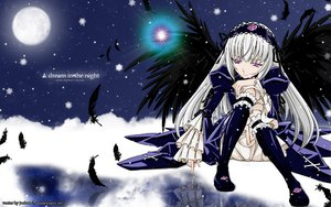 Rating: Safe Score: 28 Tags: feathers moon rozen_maiden signed suigintou vector wings User: 秀悟