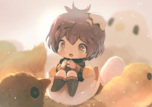 Rating: Safe Score: 22 Tags: animal bernadetta_von_varley bird boots brown_eyes brown_hair chibi fire_emblem manino_(mofuritaionaka) short_hair thighhighs User: otaku_emmy