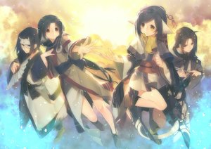 Rating: Safe Score: 86 Tags: animal_ears black_hair blue_eyes eruruw fan hakuoro haku_(utawarerumono) kuon_(utawarerumono) male mask misti tail utawarerumono utawarerumono_itsuwari_no_kamen yellow_eyes User: Flandre93