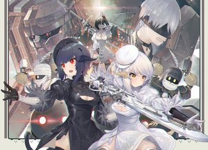 Rating: Safe Score: 58 Tags: akizone anogg au_ra cosplay crossover dress engels final_fantasy final_fantasy_xiv group hat horns konogg mecha miqo'te nier nier:_automata pod_(nier:_automata) sword tagme_(character) tail thighhighs weapon yorha_unit_no._2_type_p yorha_unit_no._9_type_s User: BattlequeenYume