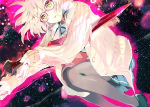 Rating: Safe Score: 90 Tags: 119 glasses kuriyama_mirai kyoukai_no_kanata User: FormX