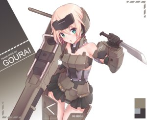 Rating: Safe Score: 63 Tags: frame_arms_girl gourai mechagirl tagme tagme_(artist) User: luckyluna