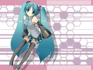 Rating: Safe Score: 20 Tags: hatsune_miku vocaloid User: atlantiza