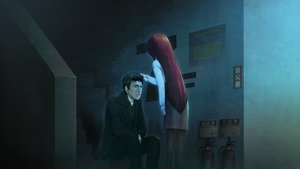 Rating: Safe Score: 39 Tags: black_hair game_cg huke okabe_rintarou pantyhose shiina_kagari short_hair skirt stairs steins;gate steins;gate_zero User: RyuZU