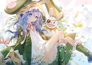 Rating: Safe Score: 54 Tags: blue_eyes blue_hair date_a_live doll long_hair puppet yoshino_(date_a_live) yoshinon_(date_a_live) yuzhi User: Fepple