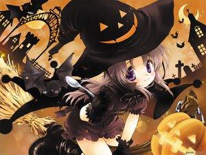 Rating: Safe Score: 40 Tags: animal augustic_pieces bat halloween moon nonohara_yui pumpkin tsuki_ha_higashi_ni_hi_ha_nishi_ni witch User: Keitarou