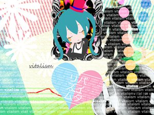 Rating: Safe Score: 19 Tags: chibi hat hatsune_miku hie vocaloid User: keke