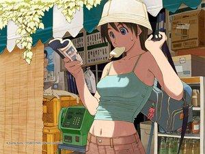 Rating: Safe Score: 21 Tags: azuma_kiyohiko food ice_cream summer User: Oyashiro-sama