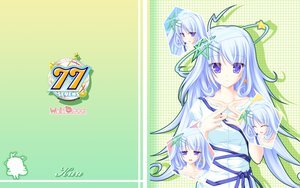 Rating: Safe Score: 37 Tags: 77 blue_eyes dress kuu_(77) long_hair tenmaso white_hair User: oranganeh