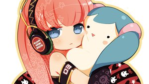 Rating: Safe Score: 69 Tags: chibi headphones megurine_luka neko_sakana vocaloid User: MissBMoon