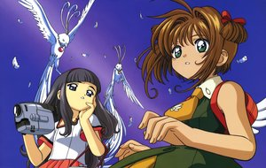 Rating: Safe Score: 3 Tags: card_captor_sakura clamp daidouji_tomoyo kinomoto_sakura scan User: RyuZU