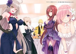 Rating: Safe Score: 127 Tags: fate/grand_order fate_(series) gilgamesh group jeanne_d'arc_alter jeanne_d'arc_(fate) male mash_kyrielight matsuryuu saber saber_alter scan scathach_(fate/grand_order) User: RyuZU
