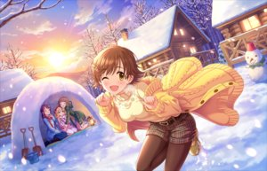Rating: Safe Score: 15 Tags: annin_doufu blonde_hair boots brown_hair building clouds group honda_mio hoodie hug idolmaster idolmaster_cinderella_girls idolmaster_cinderella_girls_starlight_stage loli lolita_fashion long_hair pantyhose ponytail sakurai_momoka scarf short_hair shorts sky snow snowman sunset tagme_(character) thighhighs tree wink winter yellow_eyes User: luckyluna