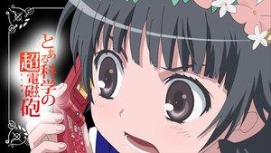 Rating: Safe Score: 9 Tags: black_hair brown_eyes close headdress phone to_aru_kagaku_no_railgun to_aru_majutsu_no_index uiharu_kazari User: pantu