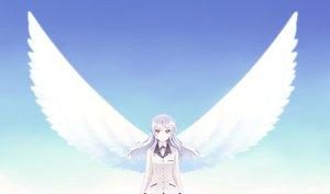 Rating: Safe Score: 50 Tags: angel_beats! long_hair ribbons school_uniform sky tachibana_kanade white_hair wings yellow_eyes User: HawthorneKitty