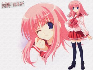 Rating: Safe Score: 10 Tags: aquaplus kouno_harumi leaf mitsumi_misato to_heart to_heart_2 User: Oyashiro-sama