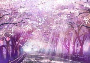 Rating: Safe Score: 256 Tags: cherry_blossoms flowers monorisu nobody original petals scenic torii tree User: 02