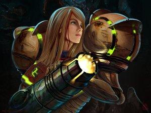 Rating: Safe Score: 138 Tags: armor blonde_hair blood blue_eyes gun ivan_flores long_hair metroid samus_aran weapon User: Avenger