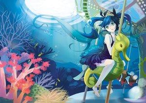 Rating: Safe Score: 91 Tags: barefoot deep-sea_girl_(vocaloid) hatsune_miku neko_eel underwater vocaloid water User: FormX