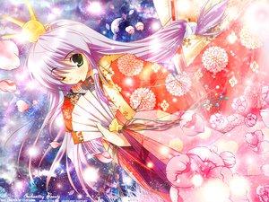 Rating: Safe Score: 35 Tags: fan feena_fam_earthlight green_eyes japanese_clothes mikeou purple_hair wink yoake_mae_yori_ruri_iro_na User: Oyashiro-sama