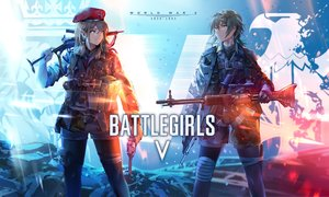 Rating: Safe Score: 51 Tags: 2girls battlefield_(series) gun neko_(yanshoujie) original weapon User: Dreista