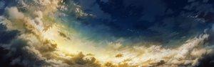 Rating: Safe Score: 122 Tags: clouds dualscreen hatsuga_(dmaigmai) nobody original scenic sky stars User: FormX