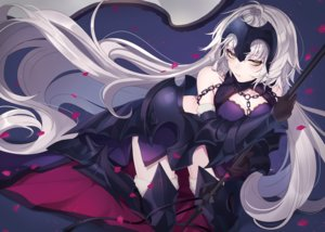 Rating: Safe Score: 68 Tags: armor fate/grand_order fate_(series) jeanne_d'arc_alter jeanne_d'arc_(fate) long_hair neko-san_(dim.dream) weapon white_hair yellow_eyes User: BattlequeenYume