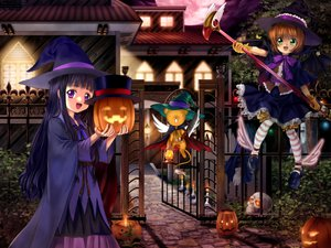 Rating: Safe Score: 79 Tags: card_captor_sakura daidouji_tomoyo halloween kero kinomoto_sakura moonknives User: 秀悟