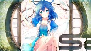 Rating: Safe Score: 77 Tags: aqua_eyes blue_hair breasts cleavage dress gengetsu_chihiro kaku_seiga touhou User: luckyluna