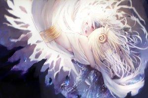 Rating: Safe Score: 67 Tags: 2girls long_hair original red_eyes white_hair yukineko User: FormX
