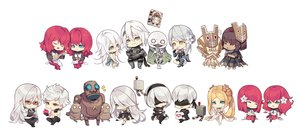 Rating: Safe Score: 76 Tags: adam_(nier:_automata) apple aqua_eyes blindfold blonde_hair book chibi debol emil eve_(nier:_automata) food fruit glasses gray_hair green_eyes group instrument kaine kamen_no_ō male mask nier nier:_automata nier_(character) orange_eyes pod_(nier:_automata) popol red_eyes red_hair robot shiro_no_sho tagme_(artist) tagme_(character) vier_(nier) white white_hair yonah yorha_unit_no._2_type_a yorha_unit_no._2_type_b yorha_unit_no._9_type_s User: otaku_emmy