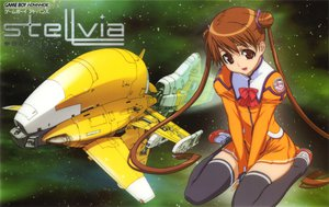 Rating: Safe Score: 12 Tags: katase_shima space thighhighs twintails uchuu_no_stellvia uniform zettai_ryouiki User: Oyashiro-sama