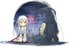 Rating: Safe Score: 41 Tags: armor original red_eyes shiroganeusagi white_hair User: FoliFF