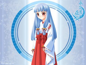 Rating: Safe Score: 5 Tags: japanese_clothes miko towaduki_no_miko User: Oyashiro-sama