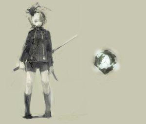 Rating: Safe Score: 43 Tags: katana konpaku_youmu myon polychromatic shorts sugimoto_gang sword touhou weapon User: PAIIS