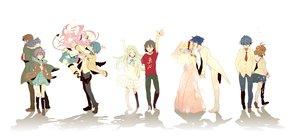 Rating: Safe Score: 162 Tags: angel_beats! ano_hi_mita_hana_no_namae_wo_bokutachi_wa_mada_shiranai clannad crossover furukawa_nagisa group hinata_hideki honma_meiko kyon male nagato_yuki nia_teppelin okazaki_tomoya simon suzumiya_haruhi_no_yuutsu takumi_(scya) tengen_toppa_gurren_lagann white yadomi_jinta yui_(angel_beats!) User: Dust