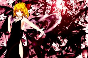 Rating: Safe Score: 82 Tags: blonde_hair dress otsunabe red_eyes ribbons rumia short_hair touhou User: C4R10Z123GT