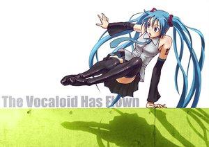Rating: Safe Score: 157 Tags: hatsune_miku parody twintails vocaloid white wokada User: HawthorneKitty