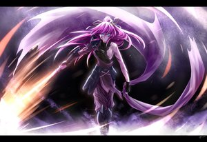 Rating: Safe Score: 152 Tags: blue_eyes mahou_shoujo_lyrical_nanoha mahou_shoujo_lyrical_nanoha_a's pink_hair ponytail sideboob signum sm318 sword weapon User: FormX