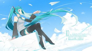 Rating: Safe Score: 31 Tags: fhang hatsune_miku long_hair twintails vocaloid User: luckyluna