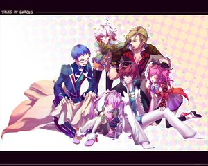 Rating: Safe Score: 6 Tags: asbel_lhant cheria_barnes hubert_ozwell malik_caesars pascal sophie_(tales_of_graces) tales_of_graces User: HawthorneKitty