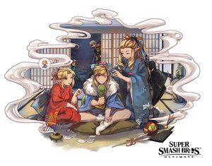 Rating: Safe Score: 18 Tags: ball black_eyes blonde_hair blue_eyes ct_wind ganondorf japanese_clothes kimono link_(zelda) logo long_hair male mask mirror night orange_hair pointed_ears ponytail princess_zelda sheik sky socks stars super_smash_bros. the_legend_of_zelda trap User: otaku_emmy