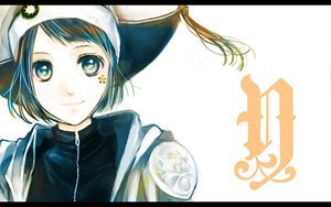 Rating: Safe Score: 9 Tags: blue_eyes blue_hair hat katekyou_hitman_reborn short_hair yuni User: Tensa