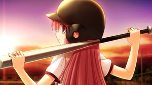 Rating: Safe Score: 29 Tags: angel_beats! baseball baseball_bat game_cg key na-ga sport sunset yui_(angel_beats!) User: Tensa