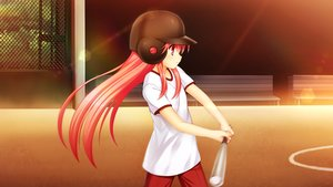Rating: Safe Score: 9 Tags: angel_beats! baseball baseball_bat game_cg na-ga sport yui_(angel_beats!) User: Tensa
