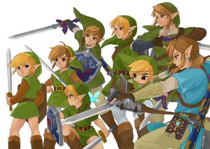 Rating: Safe Score: 24 Tags: all_male black_eyes blonde_hair blue_eyes boots bow_(weapon) brown_hair chibi computer elbow_gloves fairy gloves group hat iva_(sena0119) link_(zelda) male navi pointed_ears short_hair signed sword the_legend_of_zelda weapon User: otaku_emmy