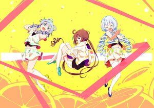 Rating: Safe Score: 37 Tags: luo_tianyi sketch tomato_(lsj44867) vocaloid vocaloid_china xingchen yellow yuezheng_ling User: FormX