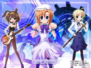 Rating: Safe Score: 14 Tags: artoria_pendragon_(all) crossover fate_(series) fate/stay_night higurashi_no_naku_koro_ni ryuuguu_rena saber suzumiya_haruhi suzumiya_haruhi_no_yuutsu User: Oyashiro-sama