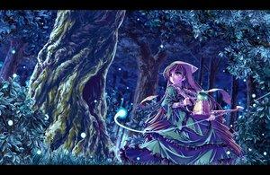 Rating: Safe Score: 25 Tags: bicolored_eyes brown_hair dress forest grass long_hair night rozen_maiden sasa_ichi suiseiseki tree User: RyuZU